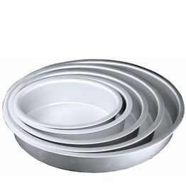 Oval cake pans