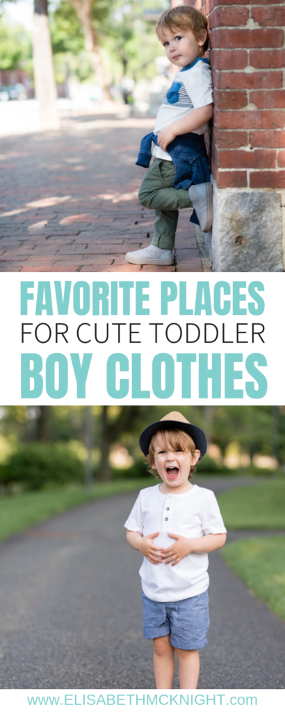 c6a32c21a9bb I'm sharing all the best places to find trendy and cute toddler boy clothes.  Dressing a boy is a lot more fun than I thought!
