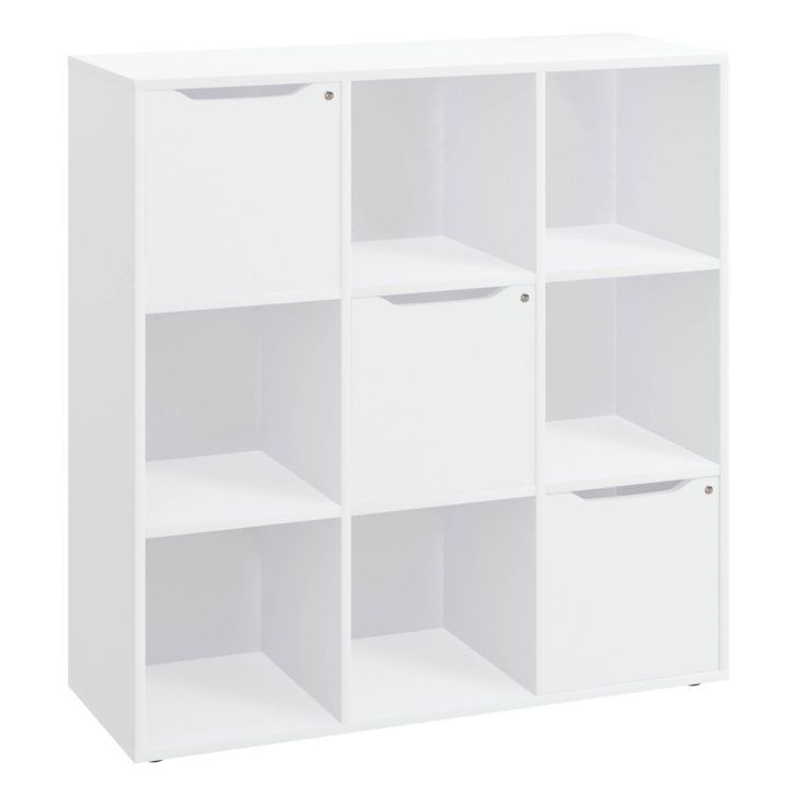 Interior Design Meuble Rangement 9 Cases Meuble A Casiers Blanc