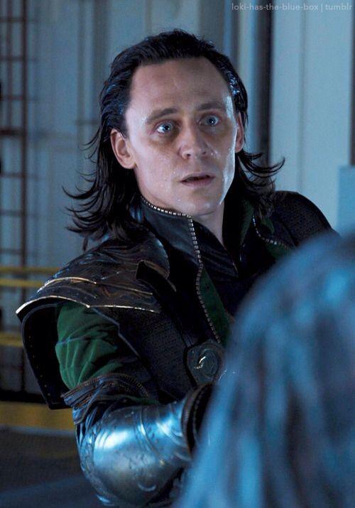 "Avengers Loki-he looks like he's going ""wut?"" Someone blur it to make it look like he's being swept off his feet!"