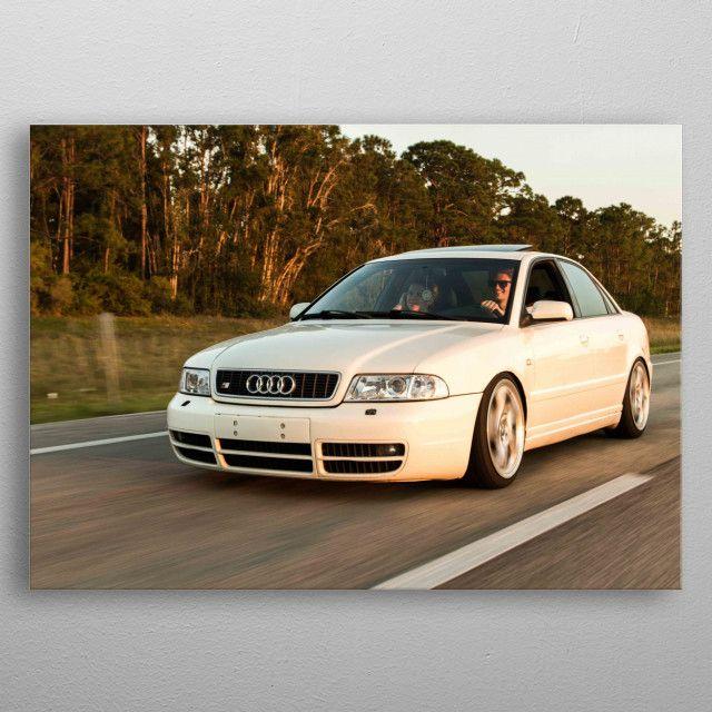 Audi 22 by Graphix Display   metal posters - Displate   Displate thumbnail