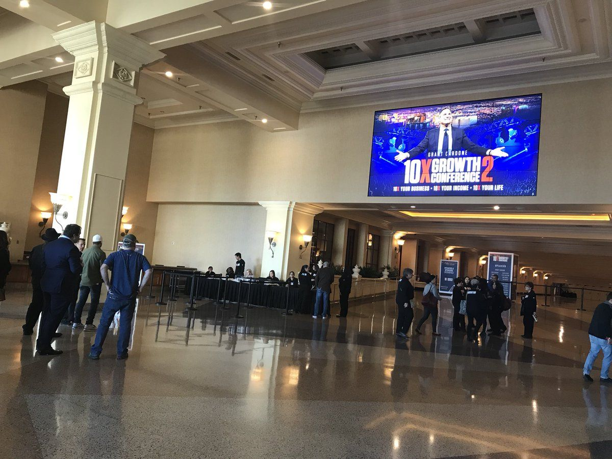 Grant cardone on with images mandalay bay convention