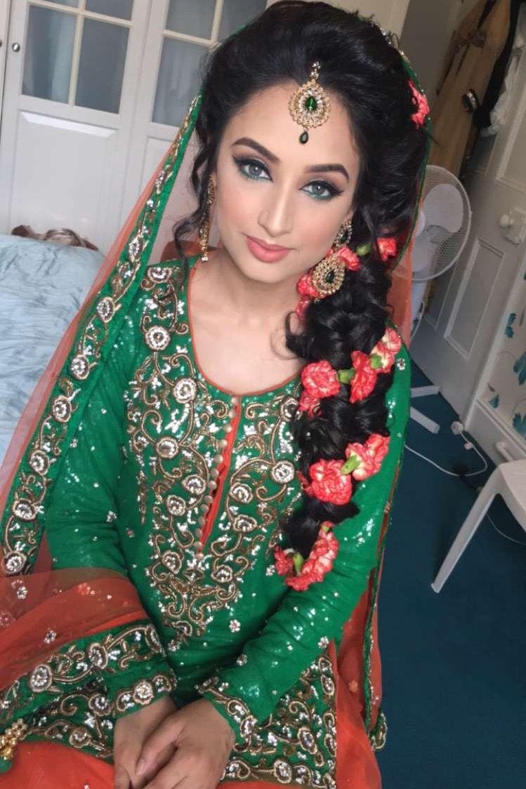 pinterest: @pawank90   makeup and hair   bridal mehndi