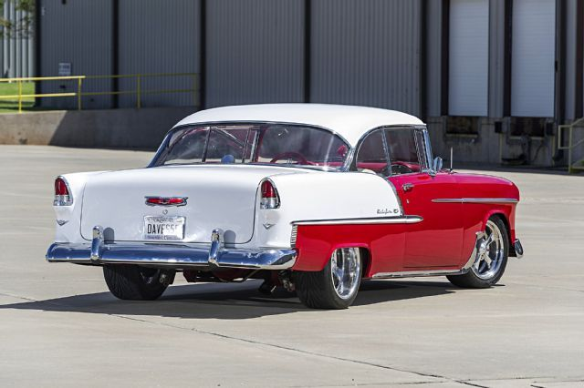 This 1955 Chevy Bel Air Has Been With Its Owner Since He Was 3