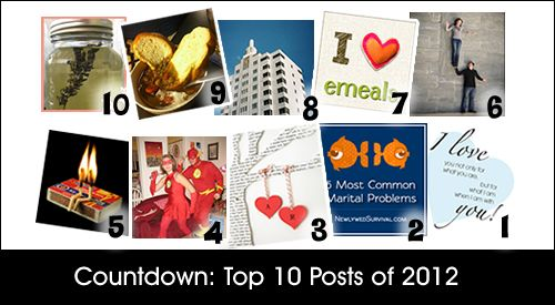 Top Newlywed Survival Posts from 2012