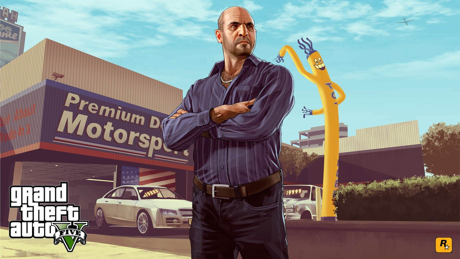 Download image gta5 pc android iphone and ipad wallpapers and - Download Wallpaper Gta V Grand Theft Auto V Game 1920 1080 Gta V