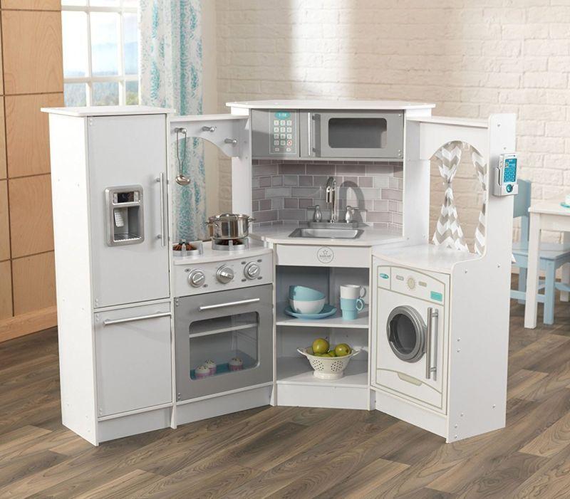Kidkraft Ultimate Corner Kitchen With Lights Sounds Play Kitchen