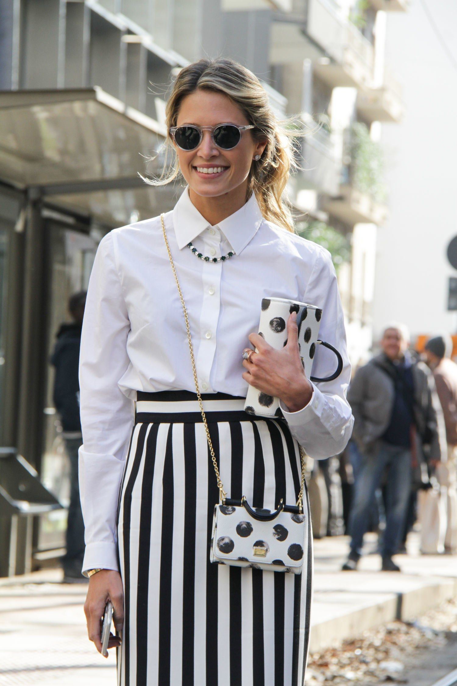 23c526c02c25 11 Ways to Wear a White Button-Down Shirt Right Now in 2019 ...