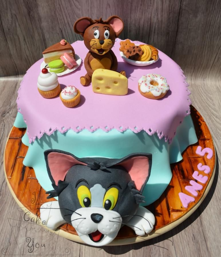 TomJerry Cookies Pinterest Toms Cake and Birthday cakes