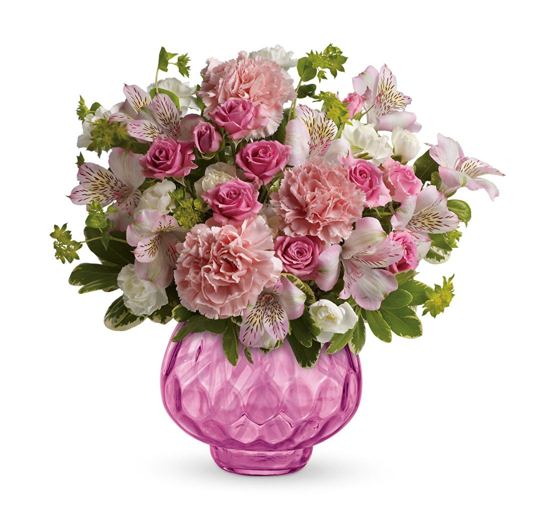 Picture Bouquets Roses Flowers Carnations Alstroemeria