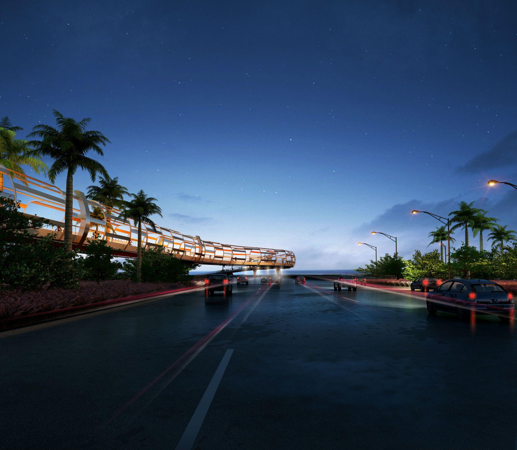 Bold Proposal For New Bike Bridge Connecting Miami To Key