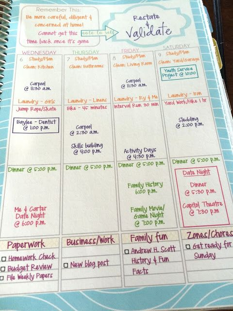 Mormon Mom Planner Review  Giveaway  Planners Change And