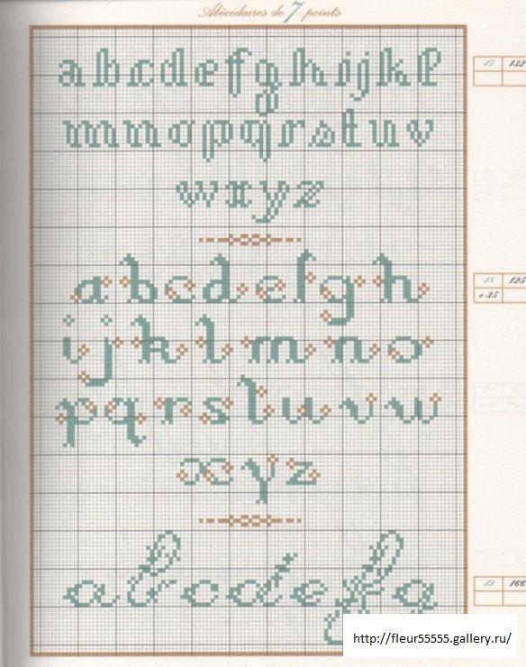 Valerie Lejeune, repertoire des alphabets