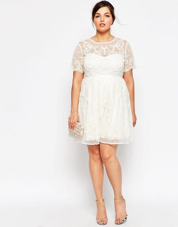 Simples vestidos de novias para gorditas moda y belleza - Moda para boda ...