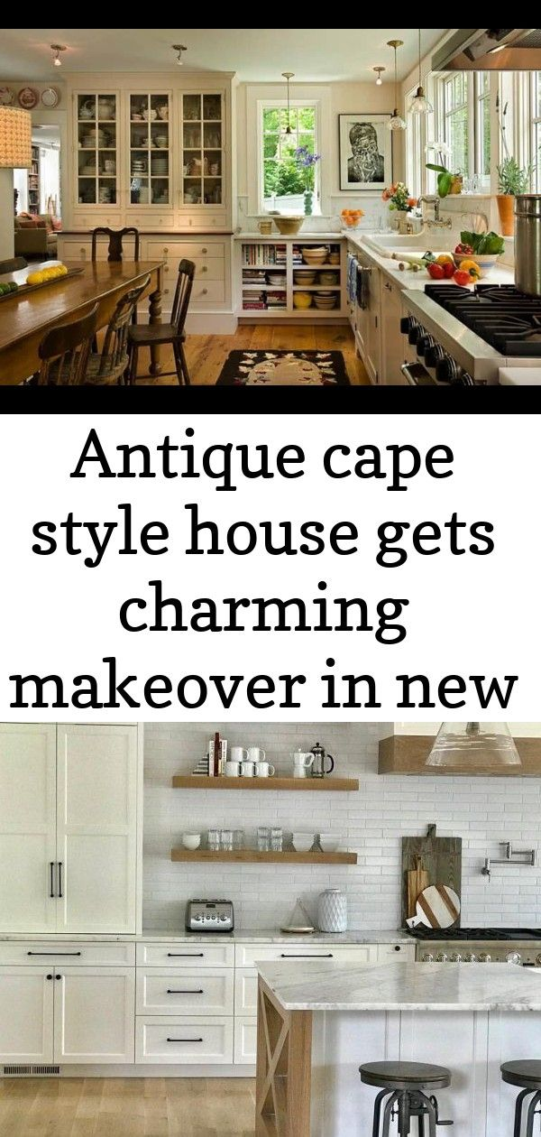 Antique cape style house gets charming makeover in new england Antique cape style house gets charming makeover in New England Rustic Wood Shelves | Pottery Barn 70+ FANTASTIC MINIMALIST WORKPLACE DESIGN IDEAS FOR YOUR INSPIRATION Drapes. Tropical. Master bedroom.