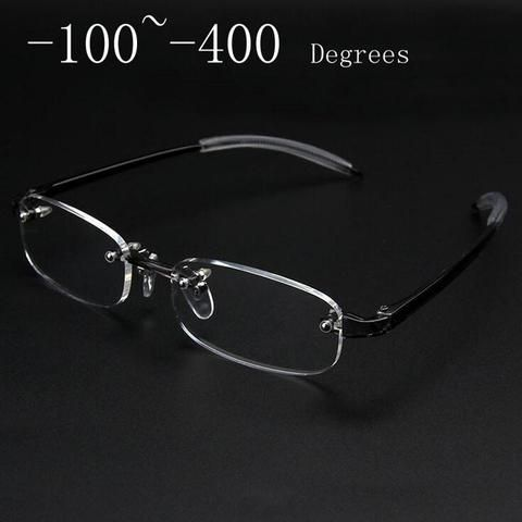 47e8159e217 New Frameless myopic glasses Frame Eyeglasses Men Women Rimless Super Light  Framemodlilj