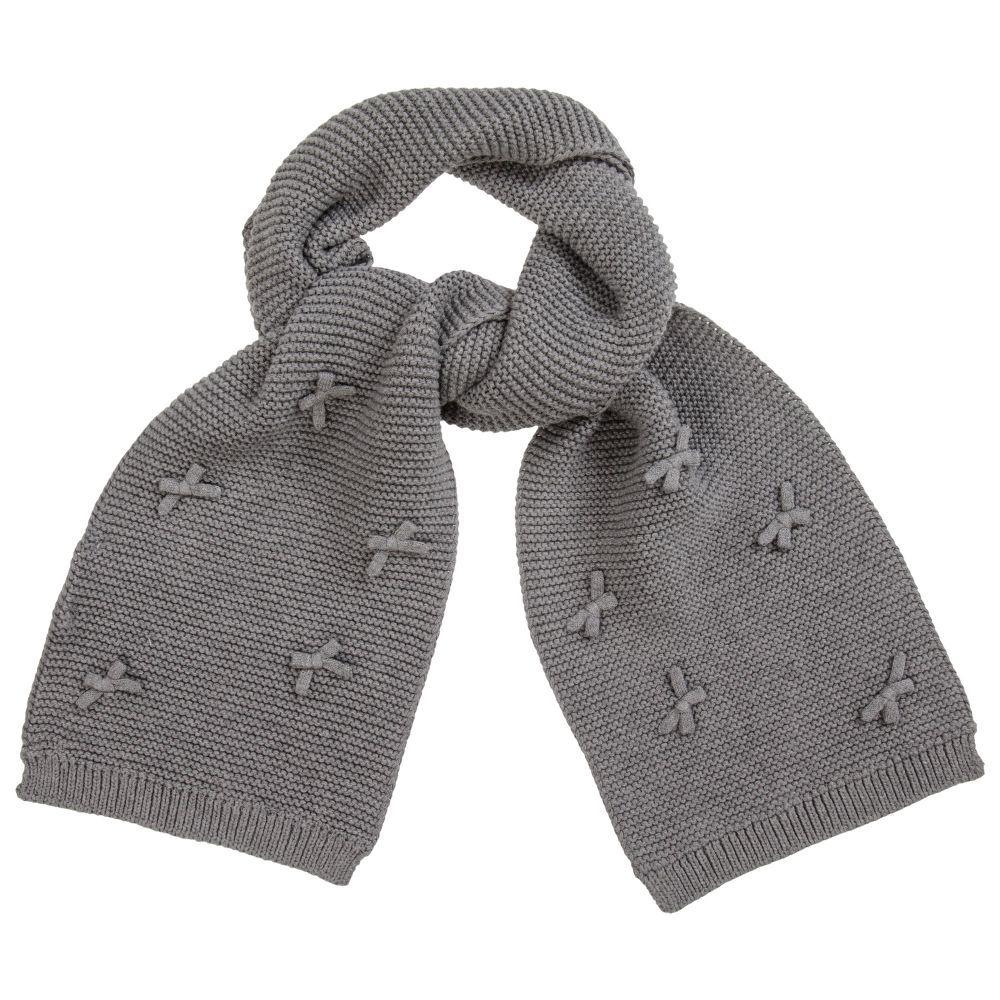 Lili Gaufrette available @Childrensalon in 2020 | Childrens fashion, Kids'  fashion, Knitted scarf