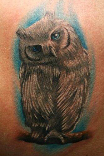Tatouage Image Hibou Chouette Bras Homme Tattoomoi Com Tot6e5845
