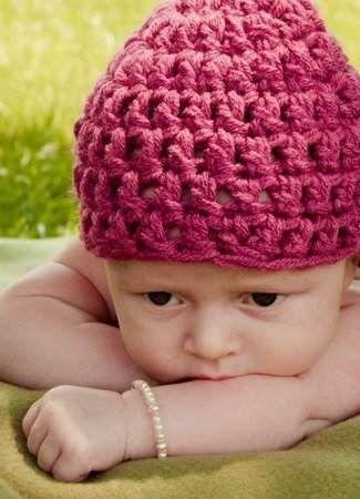 Bebés con gorritos ¡en fotos!  24f9a6a0b3e