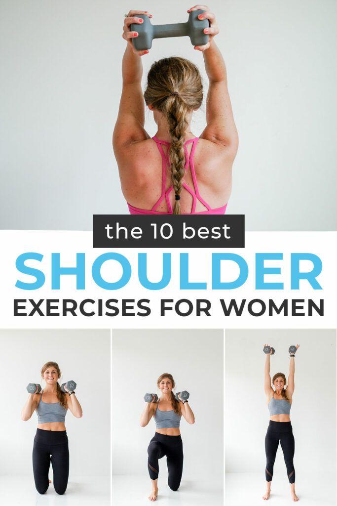 7 BEST Shoulder Exercises for Women (Video) | Nourish Move Love