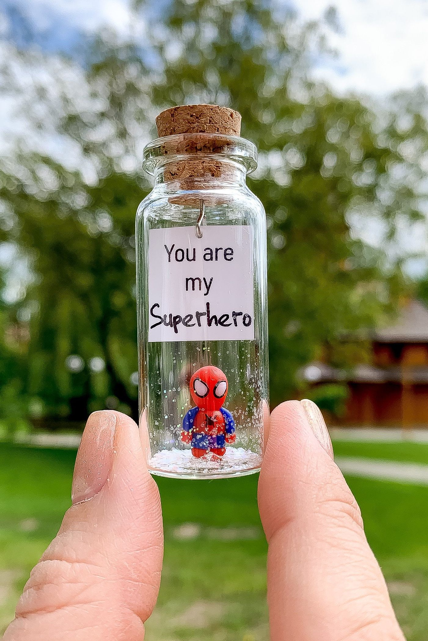 You are my superhero Unique boyfriend gift Romantic gift ...