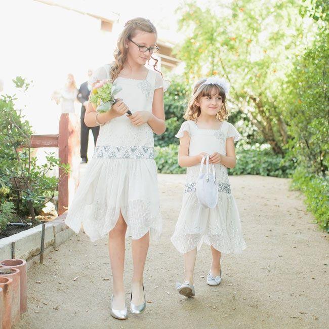 a128d4265b Glam 1920 s inspired flower girl dresses