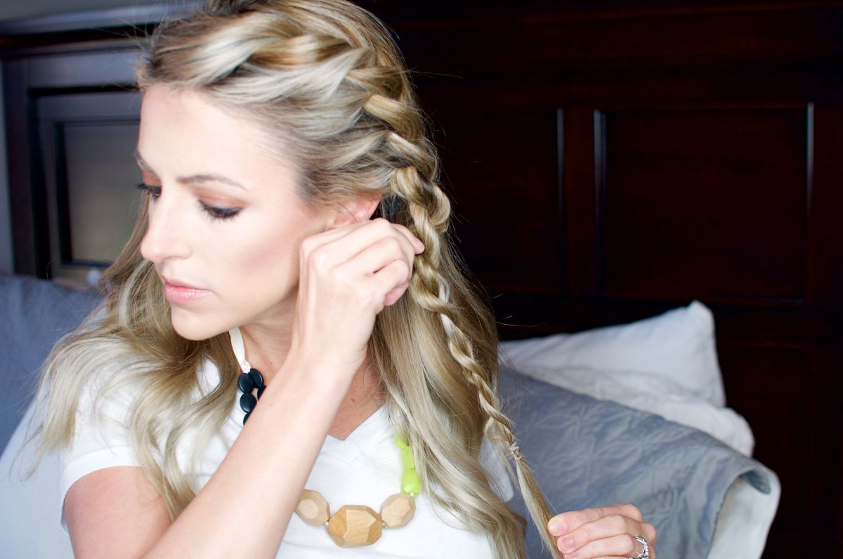 The Mum Mane Fake Braid Jewlery Braid Tutorials And Twisted Braid