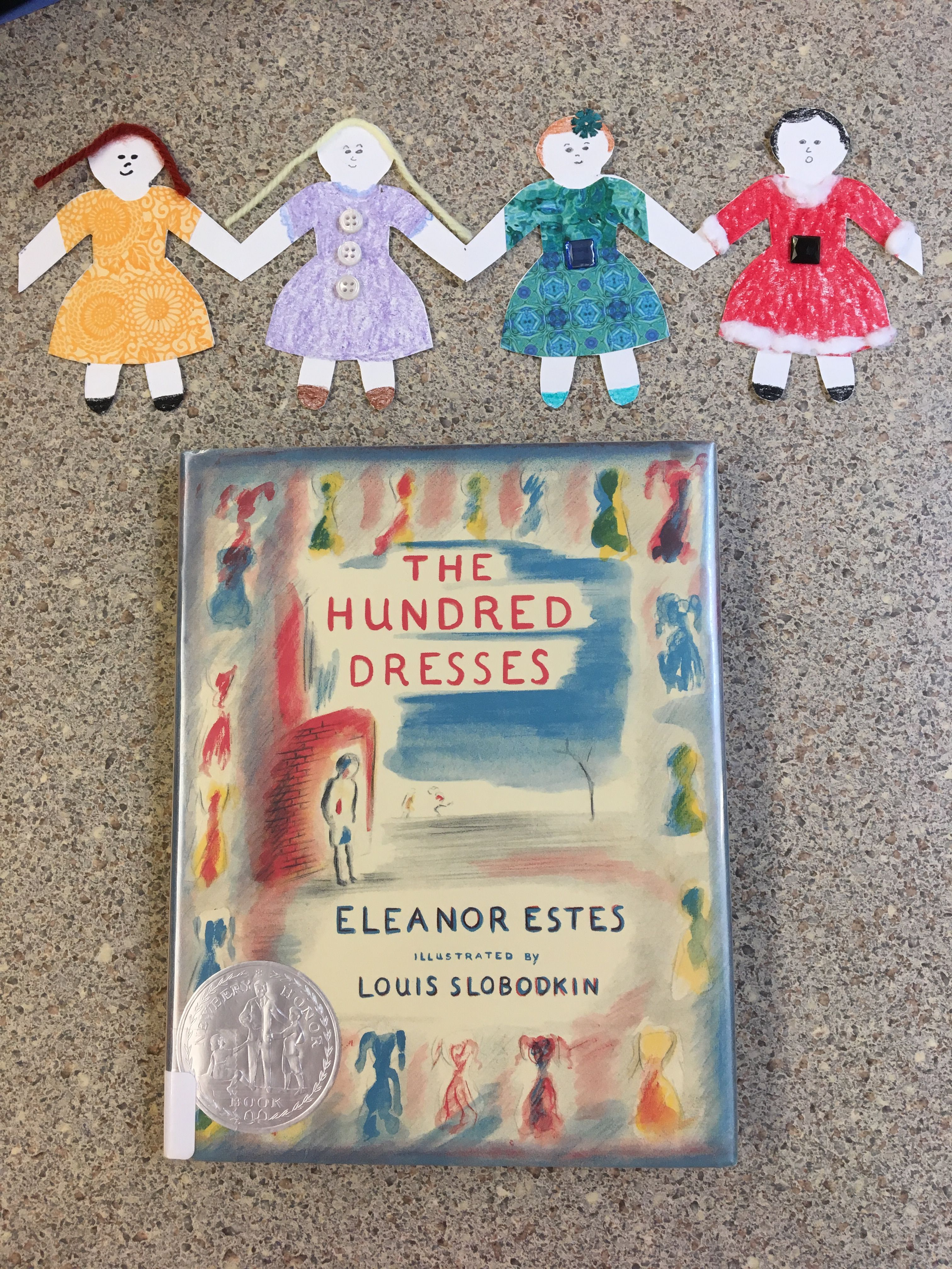 worksheet The Hundred Dresses Worksheets book the hundred dresses by eleanor estes craft paper doll chain