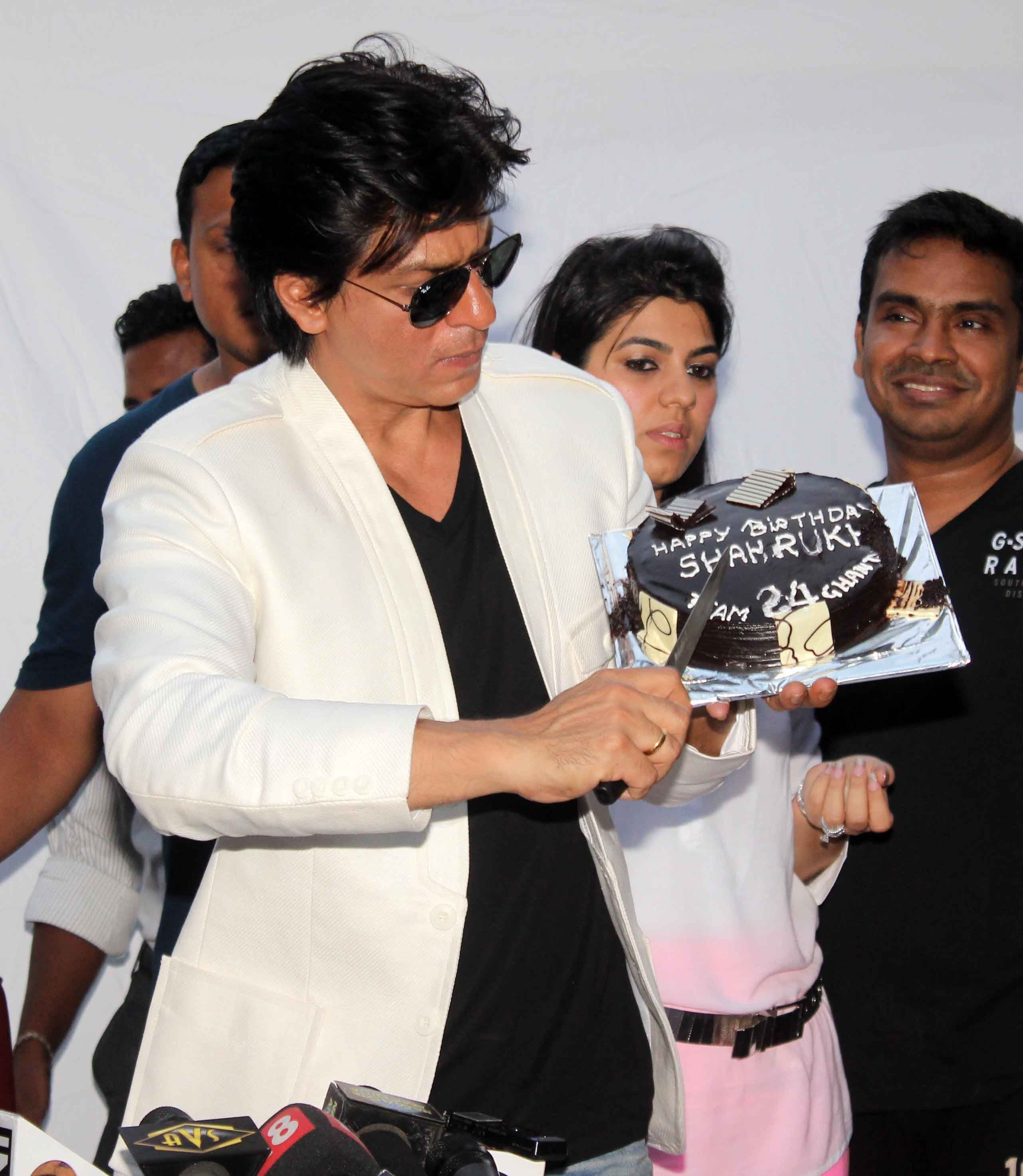 Bollywood Actor Shahrukh Khan at 47th Birthday