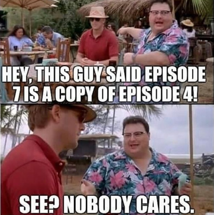 🖤 See Nobody Cares Meme Movie - 2021