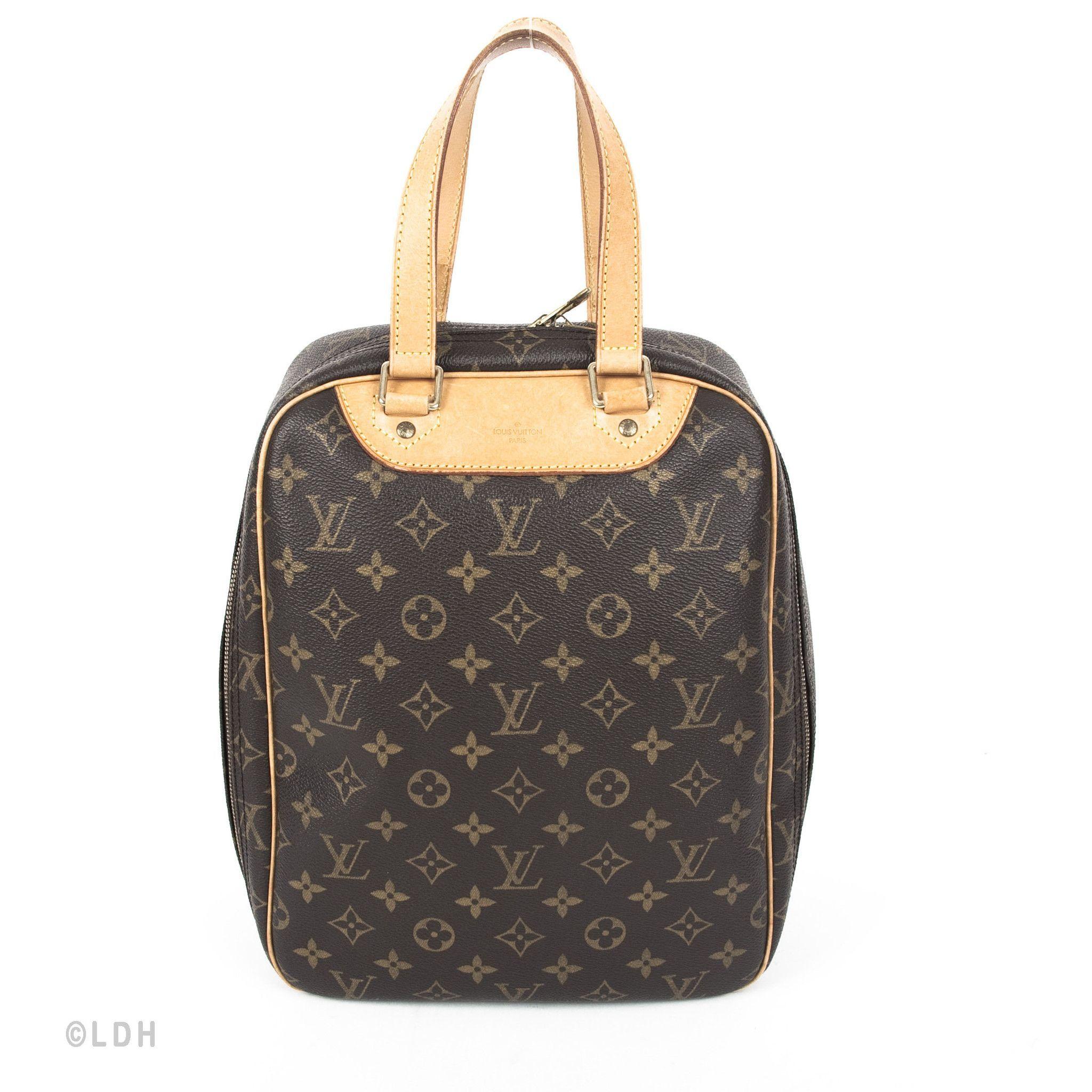 Louis Vuitton Sac Excursion Bag Authentic Pre Owned