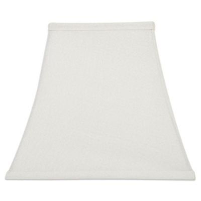 Upgradelights 8 Inch Square Bell Clip On Lampshade Replacement White Read More Reviews Of The Product By Vi Lamp Shade Replacement Lamp Shades Corner Lamp