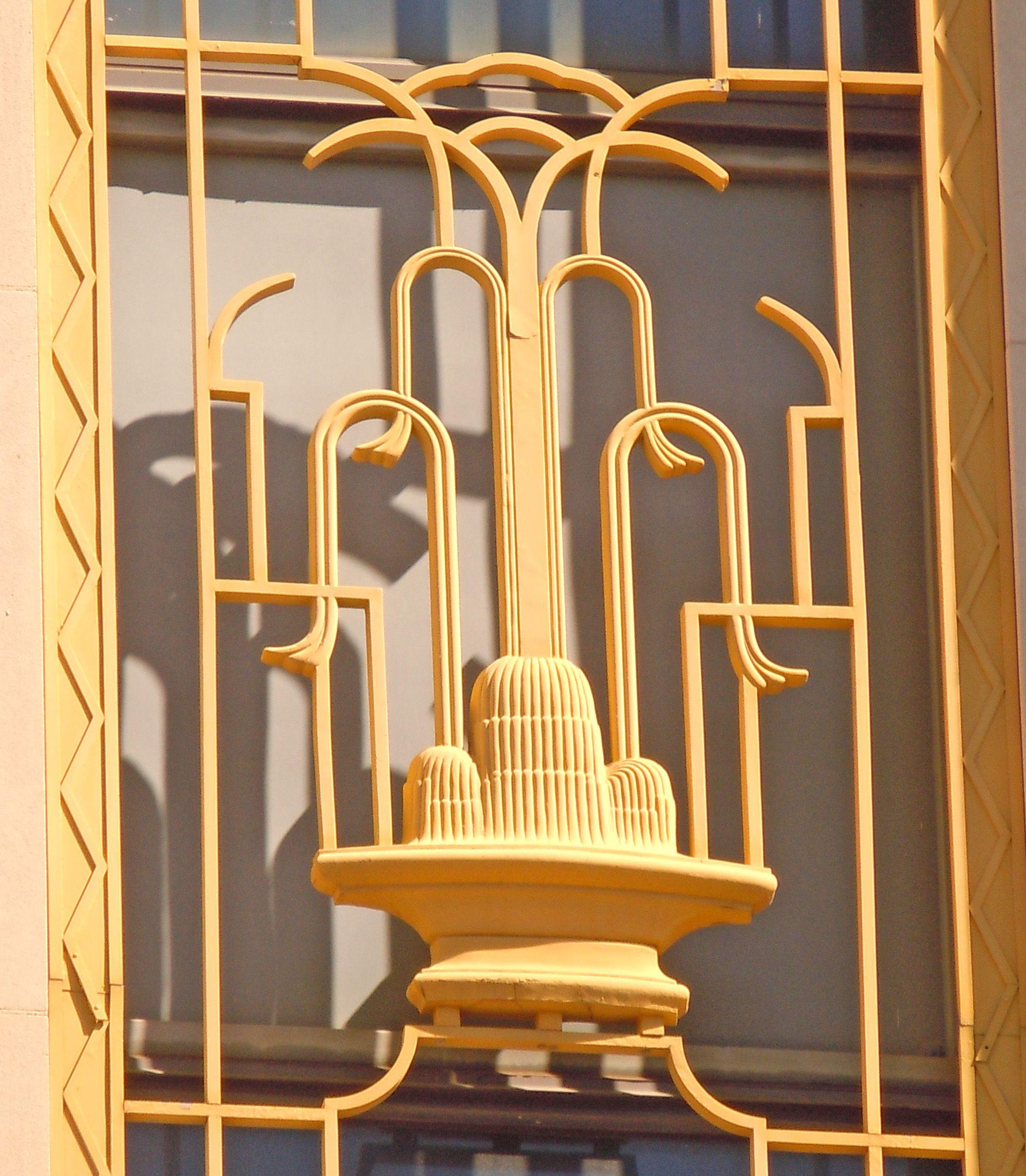 Terrace Court Apartments Birmingham Al: Window Ornamentation On The Old Loveman's Building (1935
