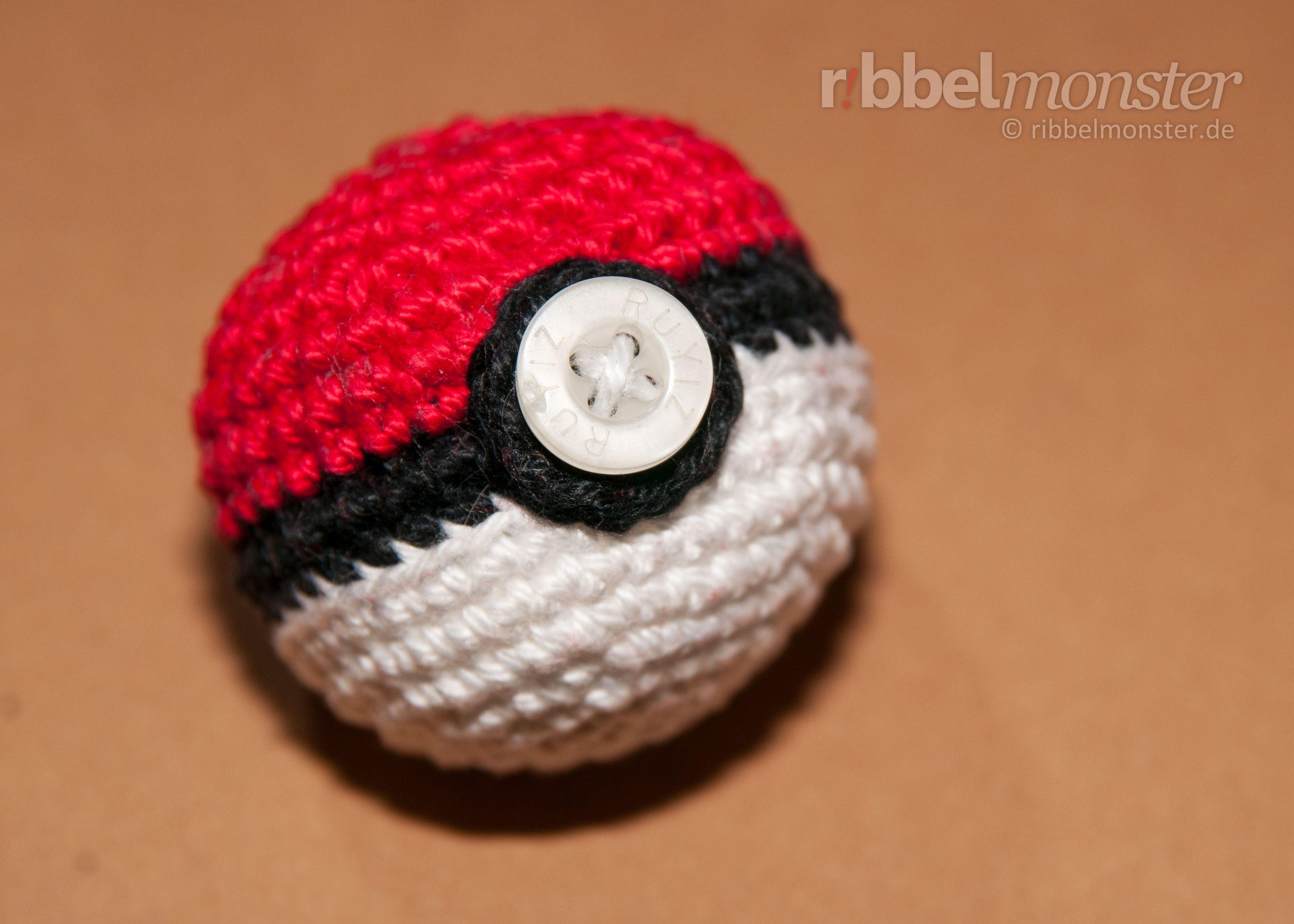Amigurumi Anleitung Pokéball Häkeln Pokémon Ball Projekt