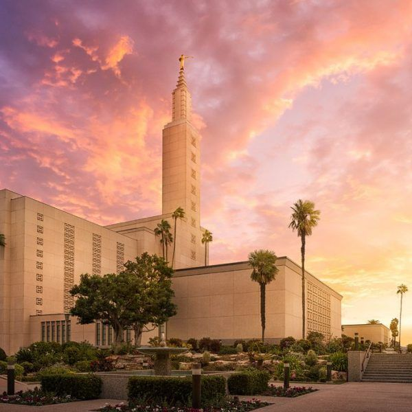 Los Angeles Temple Sunset Lds Temple Pictures Lds Temple Pictures Temple Pictures Lds Temples