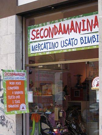 8ea63dc0709006 Negozio Roma Monteverde | Secondamanina - Mercatino usato bimbi - Mercatini negozi  negozio usato franchising abbigliamento