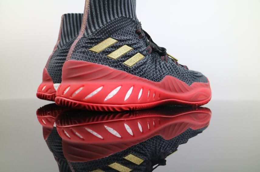 sports shoes b3244 7f369 Adidas Crazy Explosive Boost 2017 Primeknit Black Red CQ1395 Basketball Men  Sneaker for Sale7