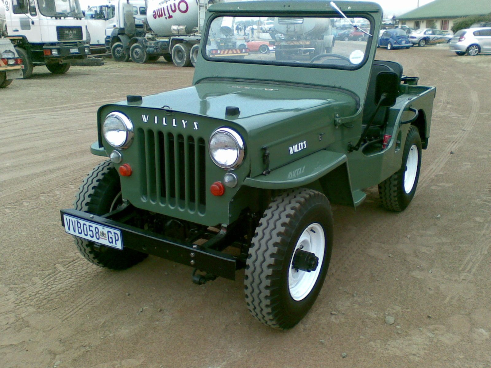 Great Example Of The Cj 3b High Hood Willys Jeep Jeep Willys