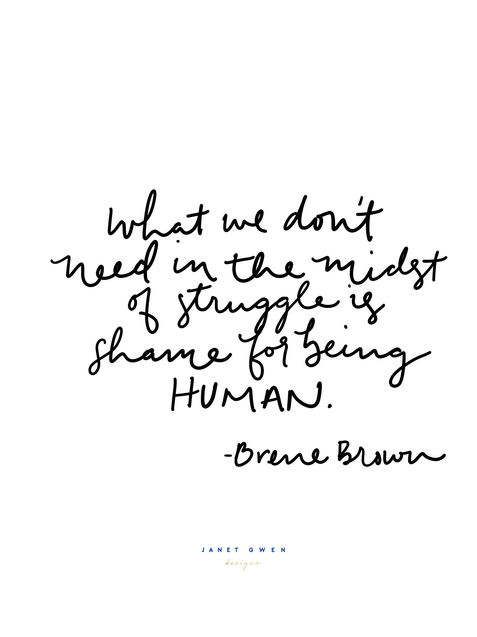 Shame For Being Human Inspirational Quotes Phone Wallpaper