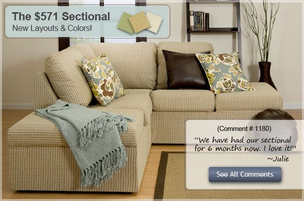 Awesome Buildable Sofas Sectionals And Chairs We Bought