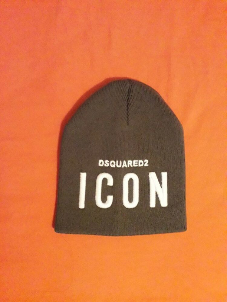 3705522ea65598 NEW Originals DSQUARED2 ICON Logo Men's Winter Cotton Beanie Hat KHAKI  Green #fashion #clothing #shoes #accessories #womensaccessories #hats (ebay  link)
