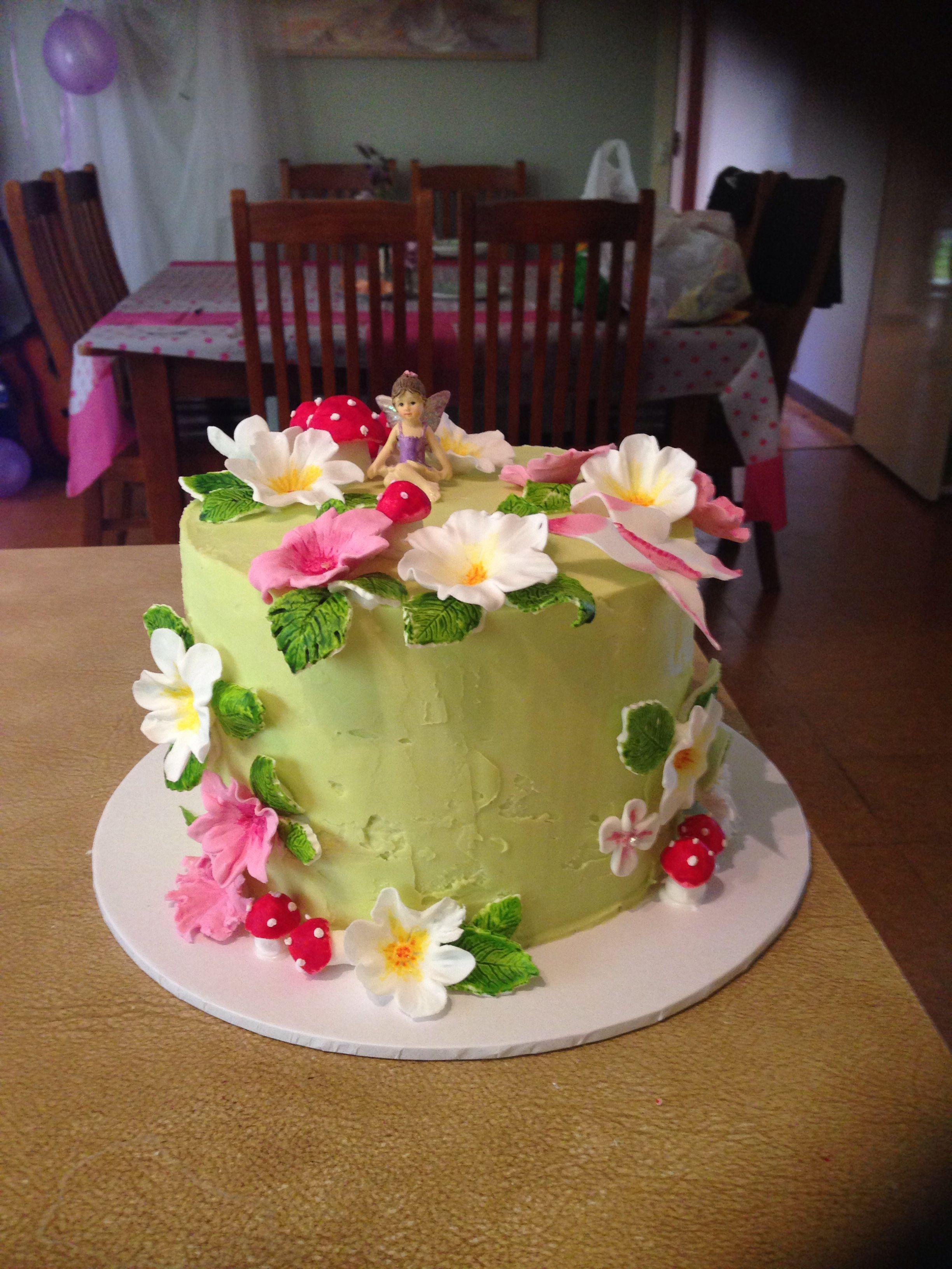 Fairy garden cake | Fairy garden cake, Cake decorating ...