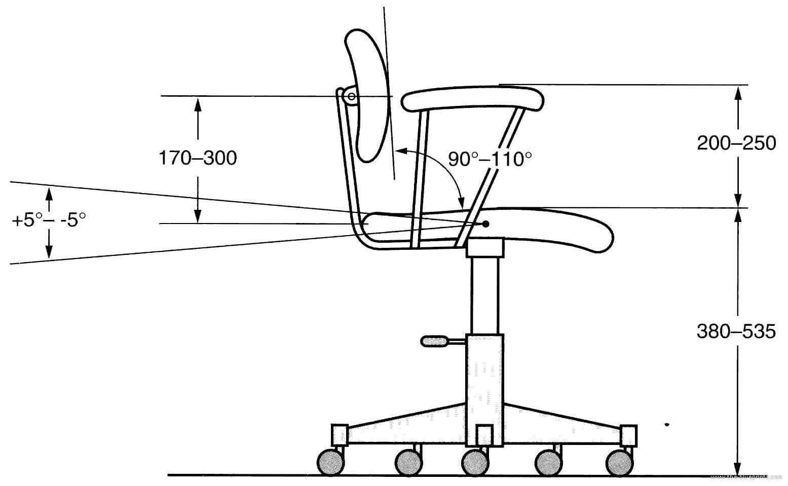 The-Blueprints.com - Blueprints > Miscellaneous > Furniture ...