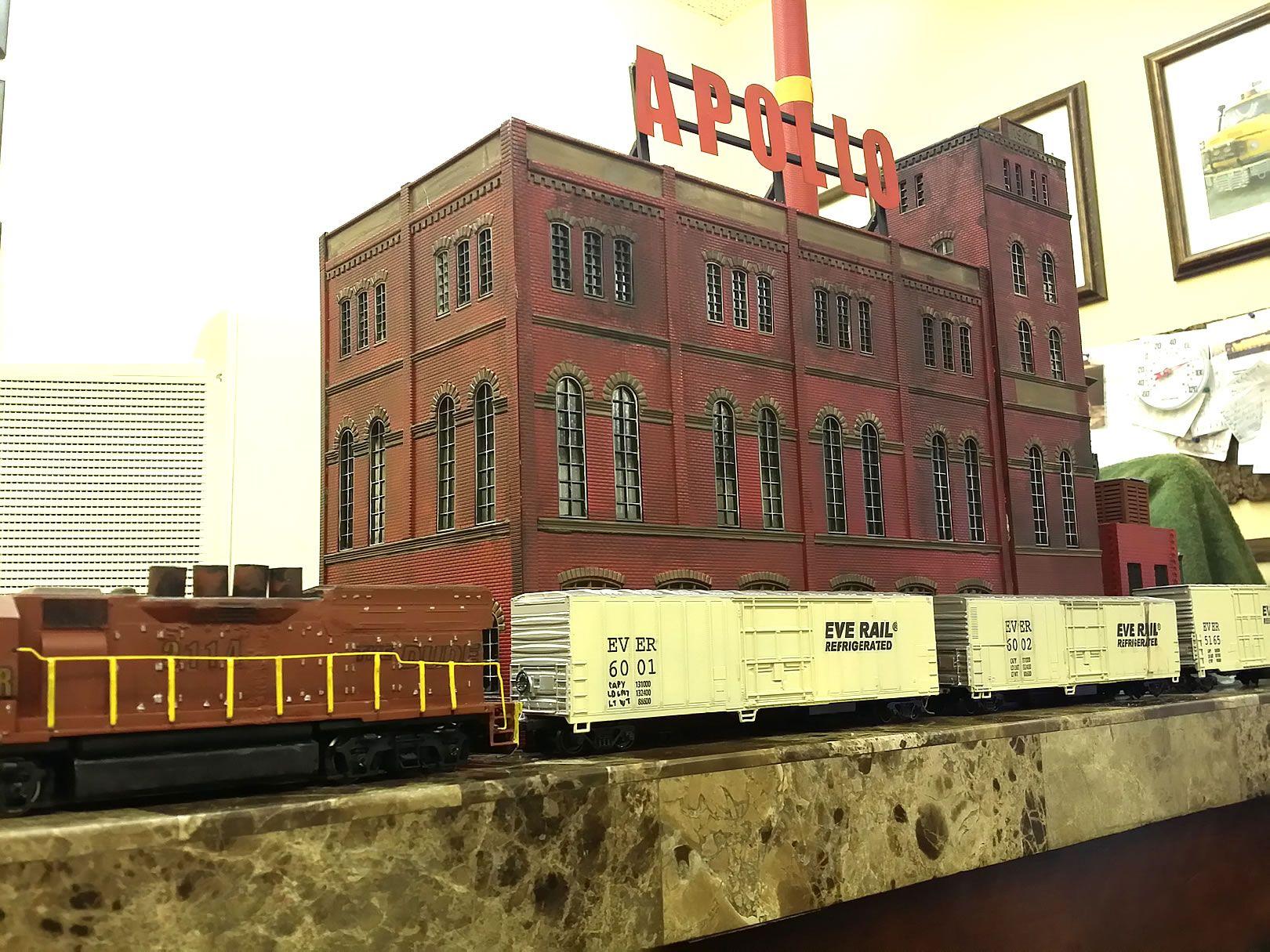 Heljan Brewery Malt House B807 | Model Railroad Factories ...