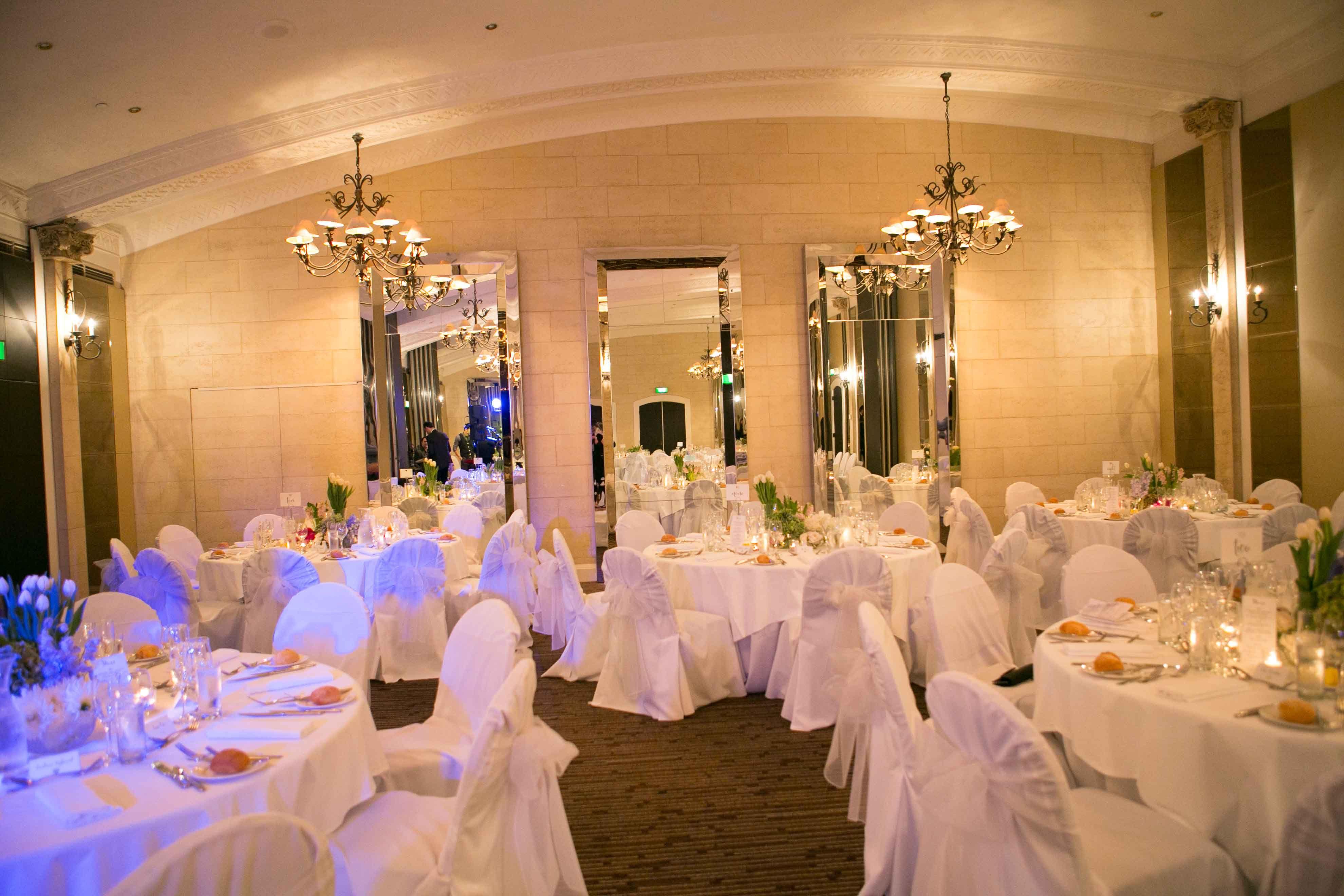 garden party wedding venues melbourne%0A A White Fairytale Wedding  Royce Hotel Melbourne Wedding Venue