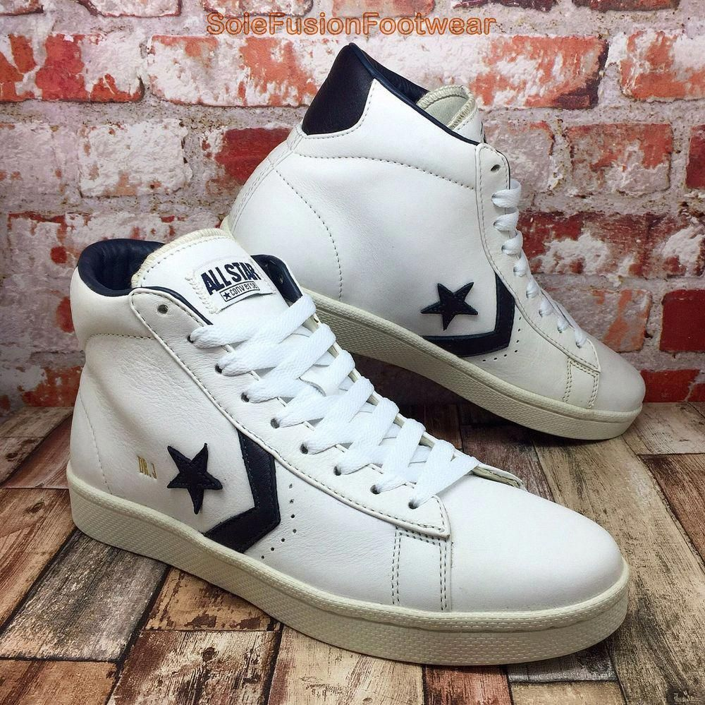 Converse Mens DR J Leather Trainers