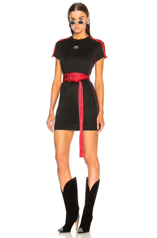 6ed5d280ac3 adidas by Alexander Wang Dress im Black   Core Red