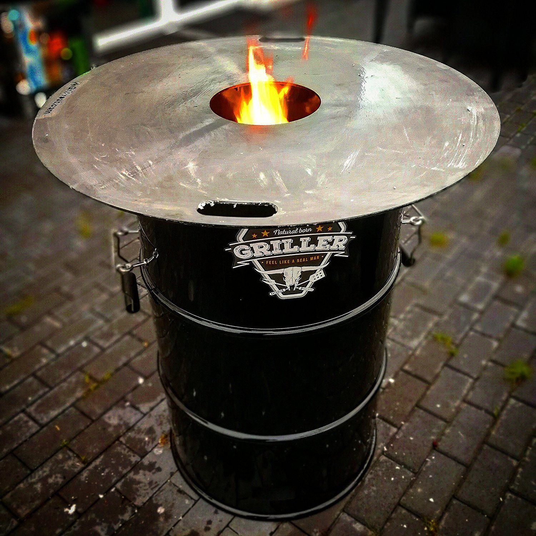 Feuerplatte Grillring Grillplatte Plancha Universalgrosse Fur