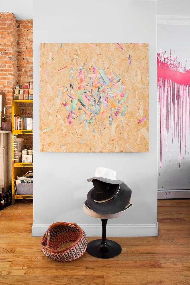 1 stylist, 2 spaces: inspired moments in brooklyn | Walls, Hallway ...