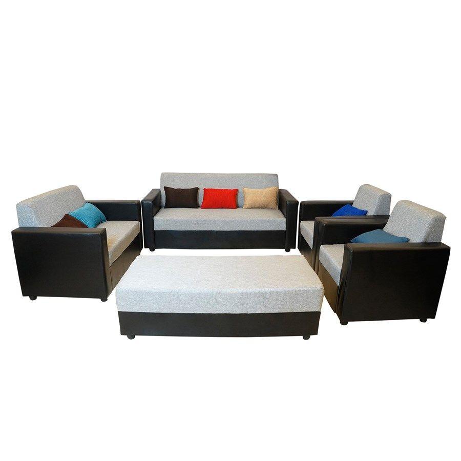 Fabric Sofa All Sofas Living Room Bantia Brazil Sofa Set 3 2 1 Diwan Free Tv Stand Worth 6000 Online India At B Sofa Set Furniture Wooden Sofa Set Designs